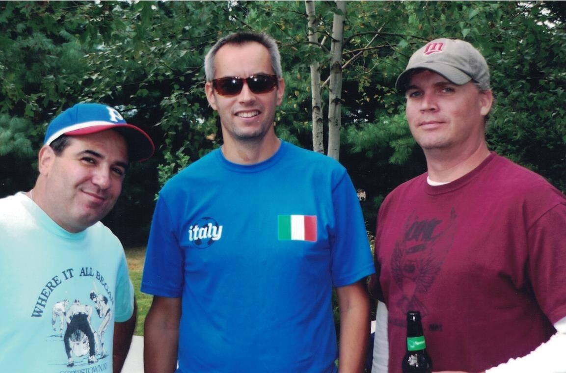 2012 - Jim, Sasha and Kenny