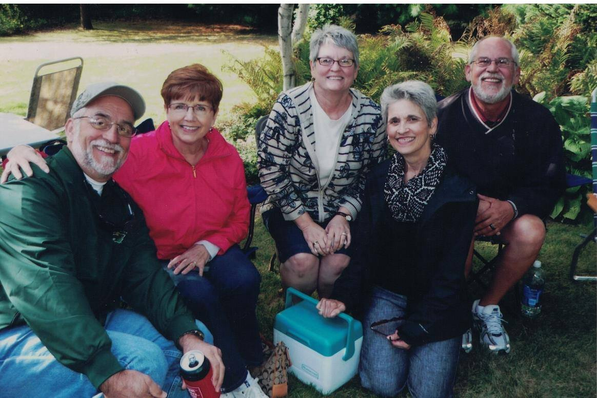 2012 - Greg, Judy, Jeanine, Sue and Fred