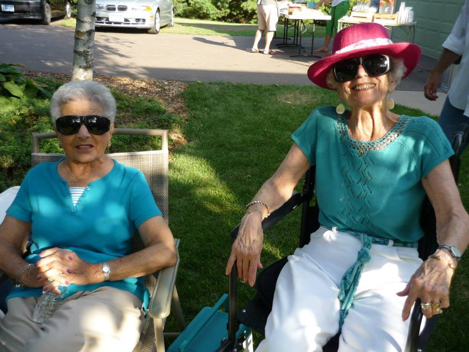 2013 - Aunt Ce and Aunt Betty