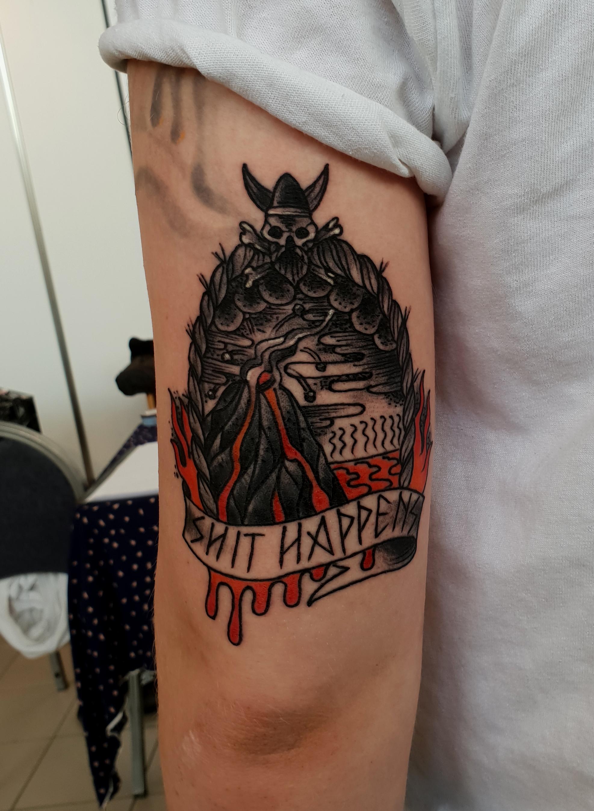 tattoo by Dan Sparrow