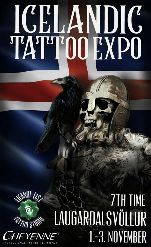 7th ICELANDIC TATTOO EXPO1-3 November 2019.REYKJAVIK, ICELAND. -