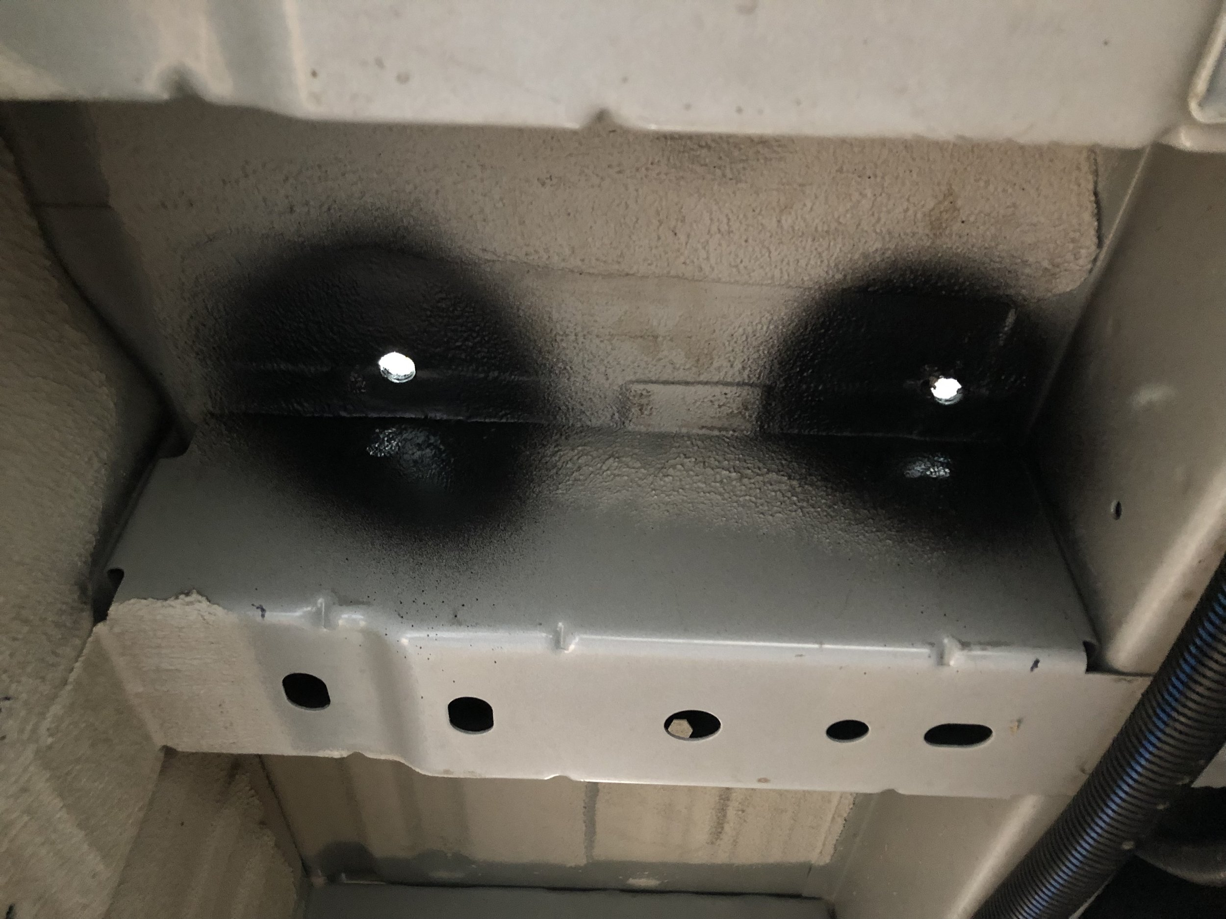 Rear holes