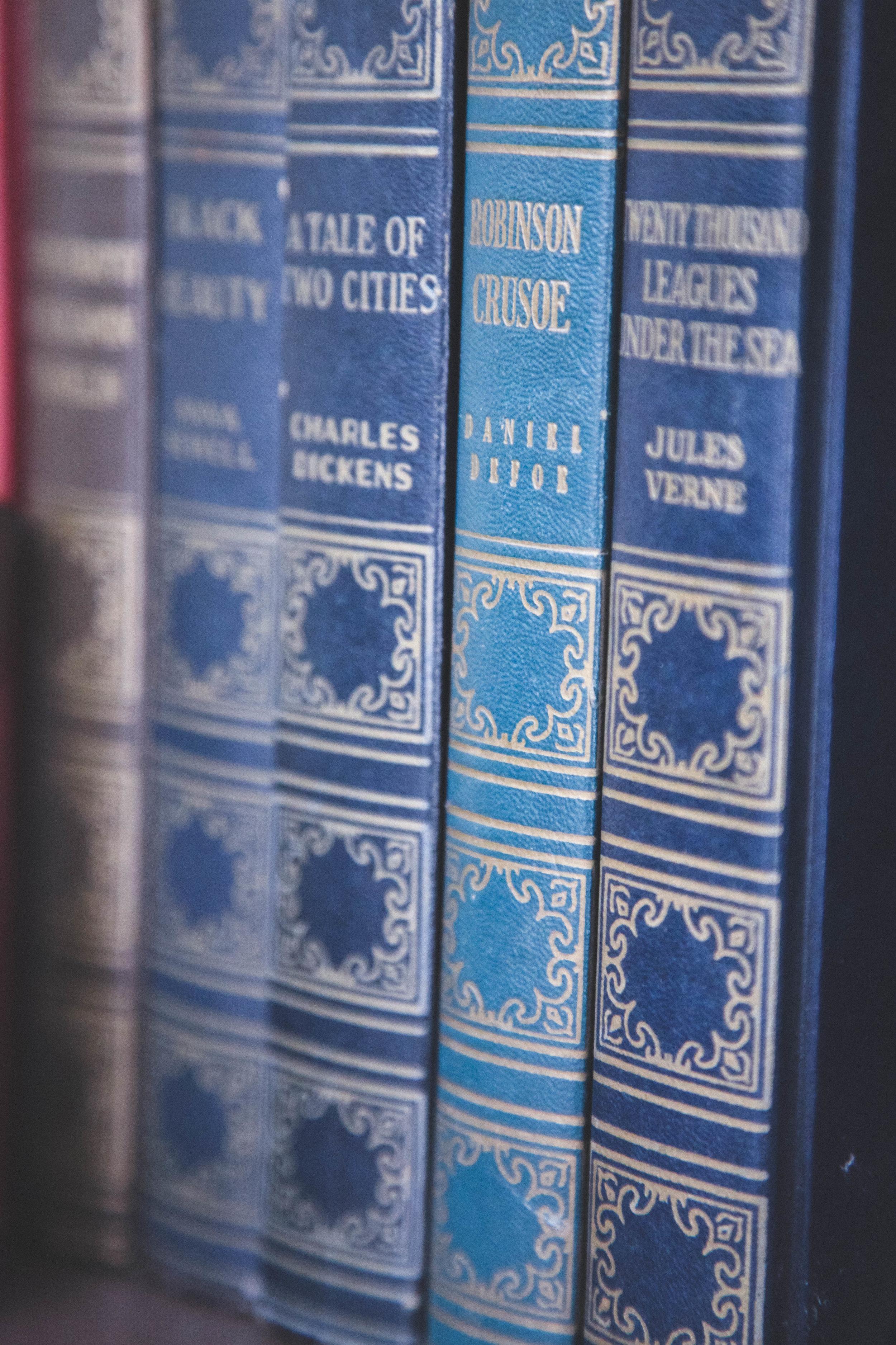 Classic Books - Erin J Bernard