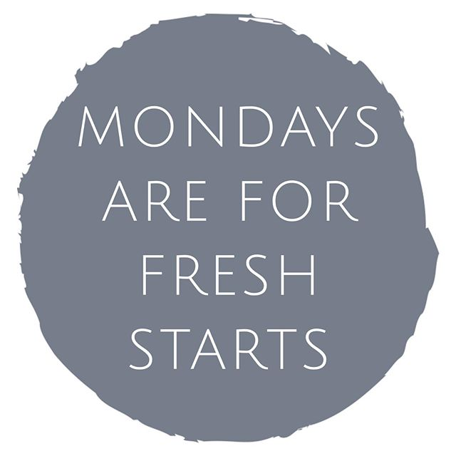 Monday's may be hard, but they allow you to take a deep breath and start new. Start this week off right with a class at BMC!  #bodymindandcore #bmc #yoga #namaste #vinyasa #mondays #indy