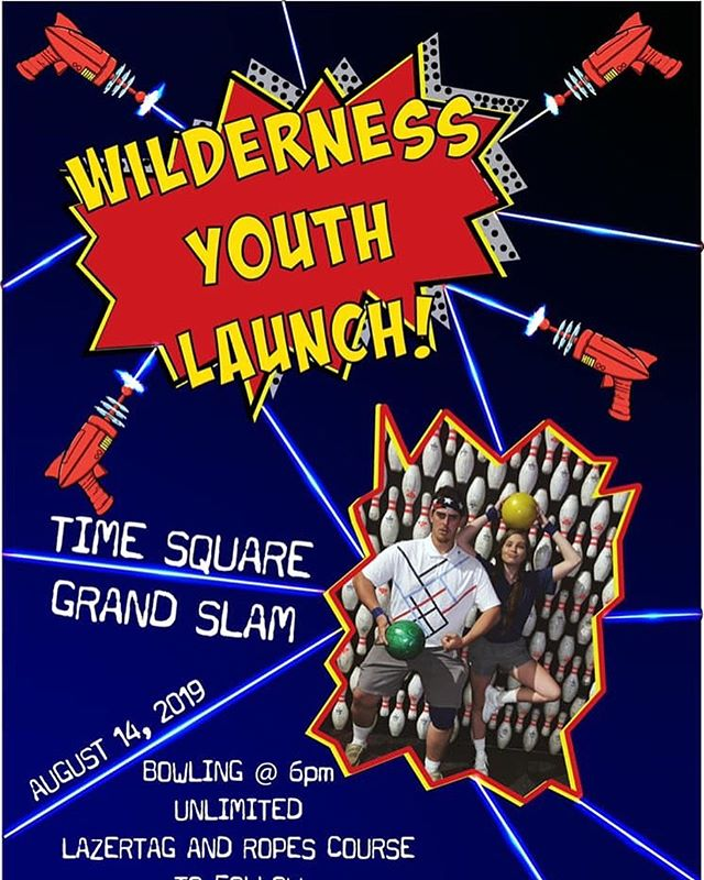 TONIGHT!! Wilderness Youth Launch! Come and bring a friend grades 6-12 to Grand Slam for a Launch party unlike anything you've ever seen! #wildernessyouth