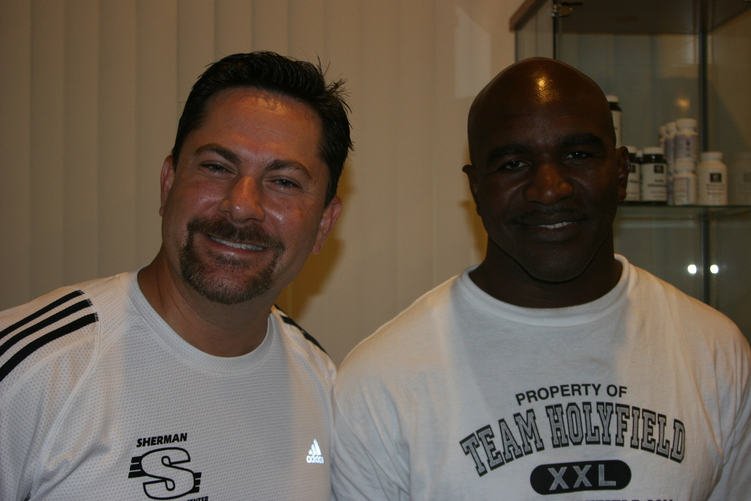 Evander Holyfield, World Heavy Boxing Champion