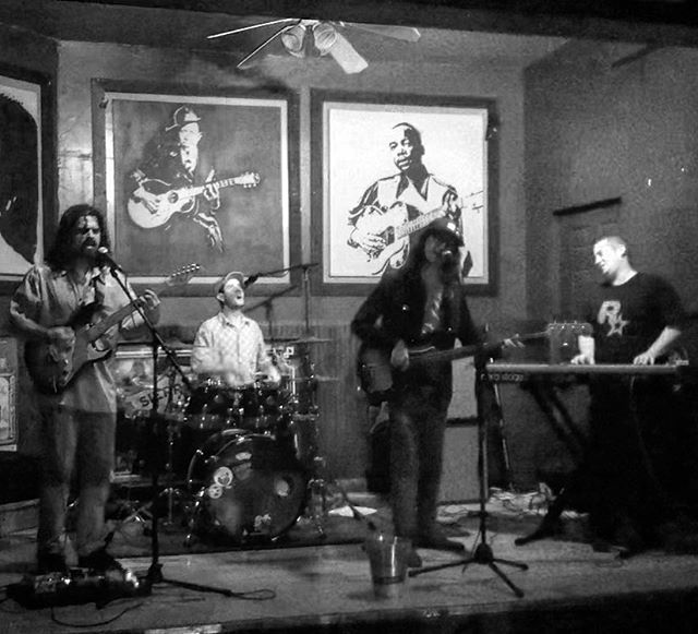 Much thanks to @poor_house & @offorbit_music fer last night! We'll be back there 4/13 with @hom6316 🤘 📷: @amanda.veee #thedeepweb #offorbit #jam #jamband #funk #livemusic #guitar #drums #bass #keyboard #southflorida