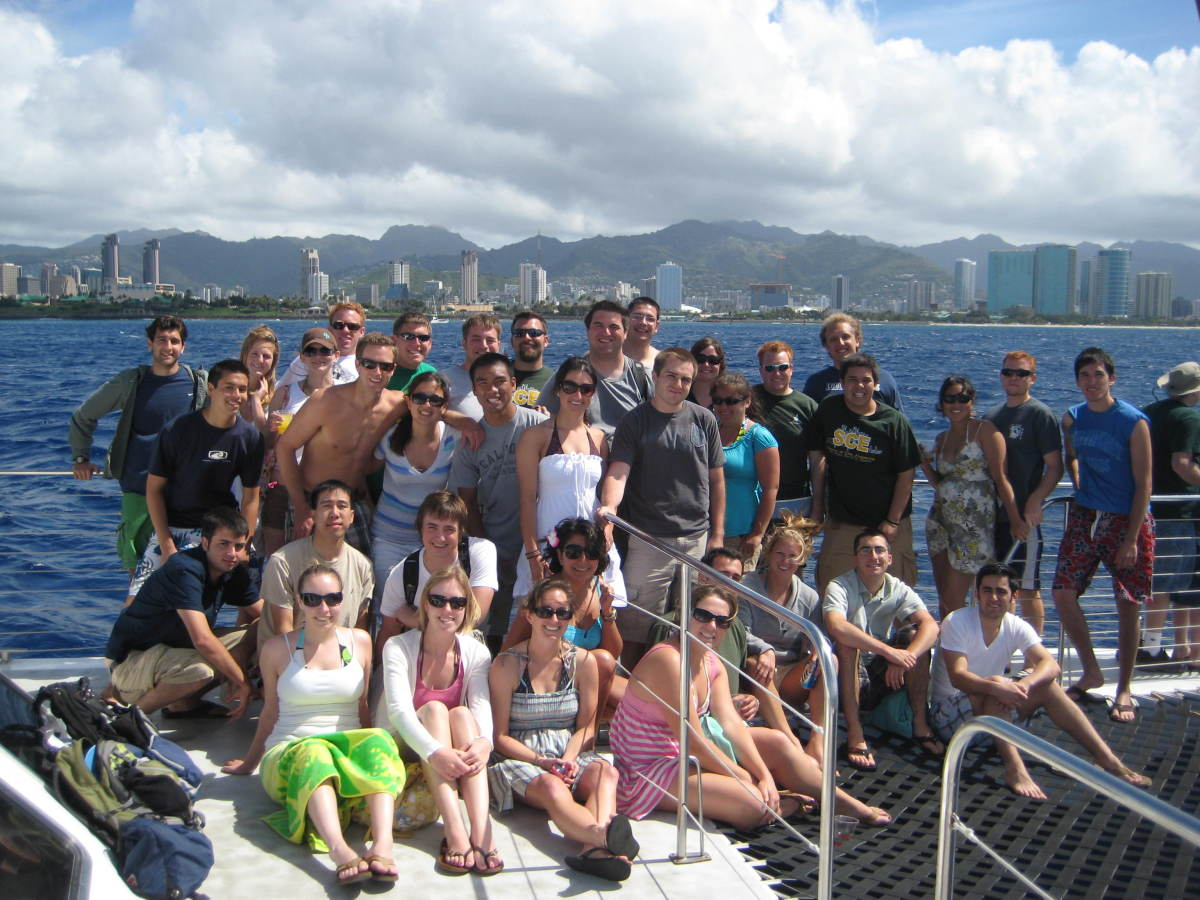 Group Photo on the Cruise