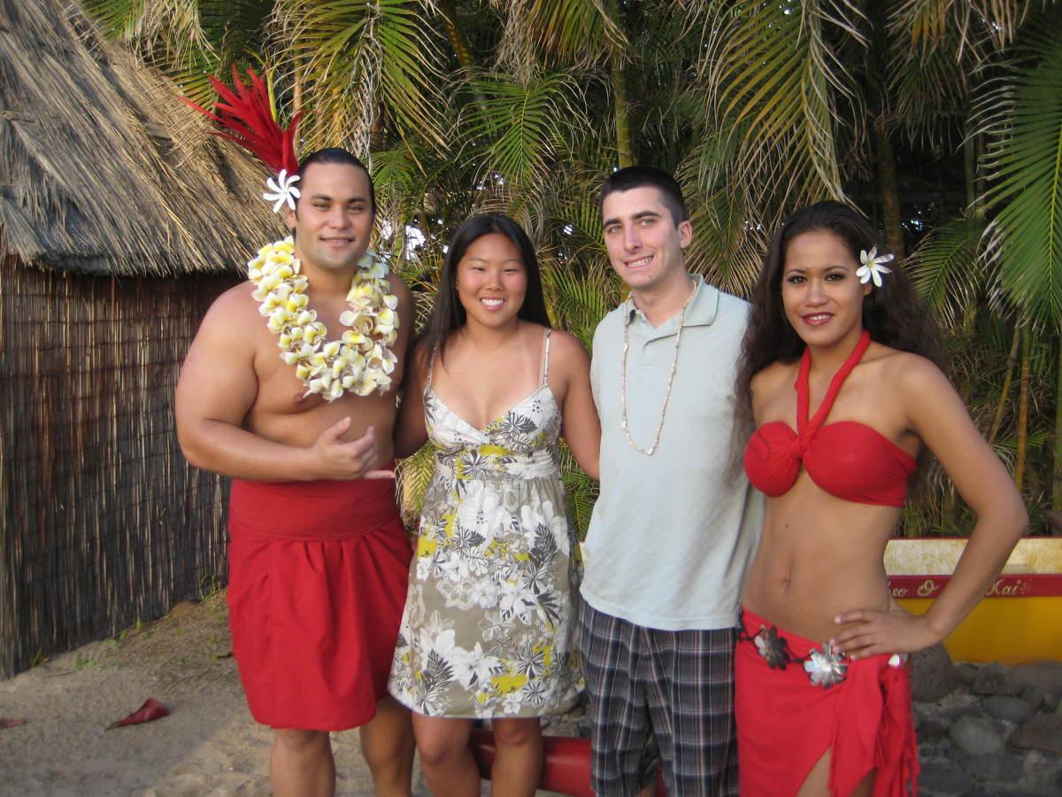 Coordinators at the Luau