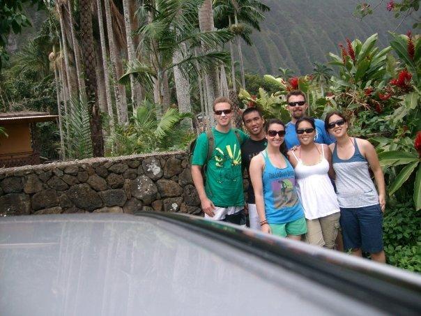 Photo op on the Windward Side of Oahu