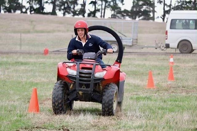 RIST students making the most of their ATV training in Hawkesdale in April earlier this year. ATV courses can be completed as a one-day short course or as part of a RIST qualification - #ristagcollege