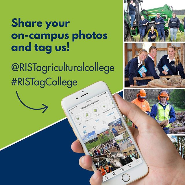 RIST students- share your on-campus photos on Instagram or Facebook and tag us to re-post @ristagriculturalcollege 😊 Help us build our online community 🌏 and stay connected after you graduate