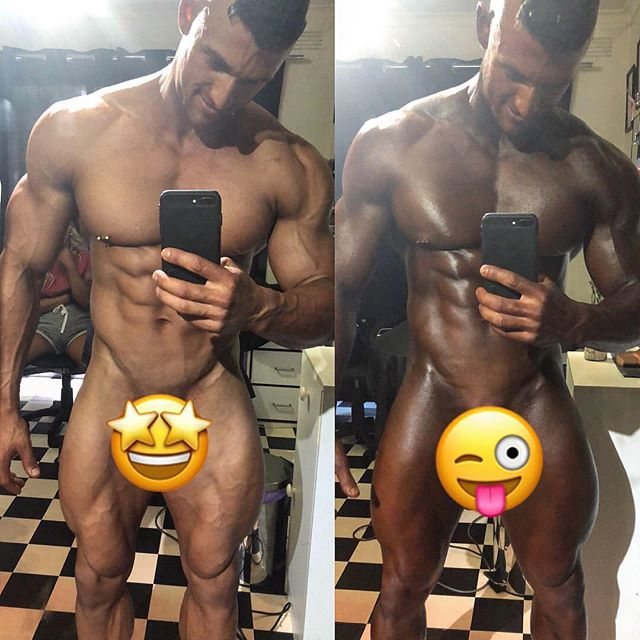 FINAL COAT DONE 😎👨🏿 I was dark before now I'm black !!! Comp ready, hard works done nothing to do but step on the stage !! 💪🏼 thanks to @jodiegrowse for the amazing tan as always!!!! #readytokillit #gymlife💪 #hardworkpaysoffs #bodybuilderlifestyle #ifbbproleague #comptan #tanned