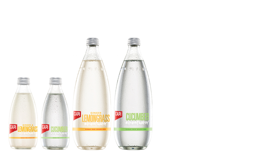 INFUSED MINERAL WATERS   We created two refreshing infused waters which are delicately flavoured with 100% natural extracts. With our iconic sparkling mineral water as their base, they can be enjoyed on their own or as a mixer for a truly refreshing experience without any calories or sweeteners.