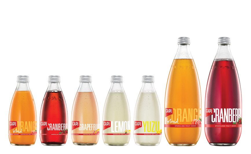 FRUITS   Our Fruit Soda range has a drink for all occasions, boozy or not! With unique flavour profiles that set them aside from your average soft drink, it's easy to make your favourite highball or simply add a straw and serve.