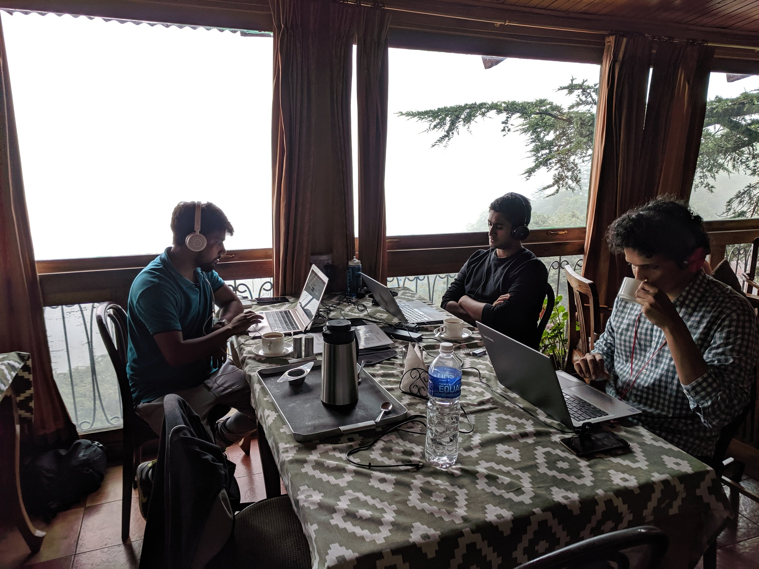 The IDinsight team works in Shimla, Himachal Pradesh.