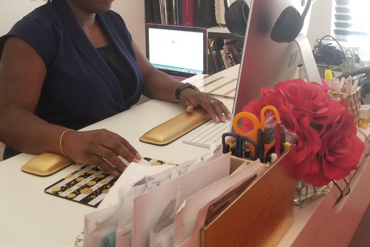 """""""I'm naturally a connector, a community builder, so with everything I create, my focus is to bring people together."""" - Jumoke Dada, principal of Signature RED, LLC and founder of Project ALOE"""