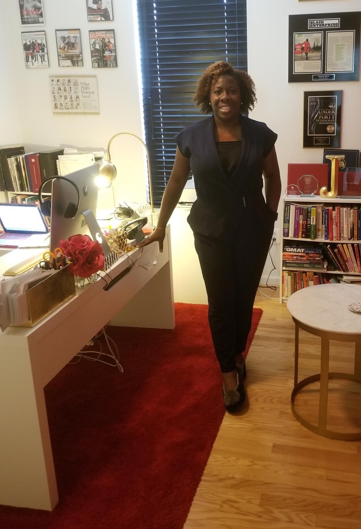 """""""I'm not just a coder, I'm not just an event planner, I'm not just a giver. I am versatile."""" - Jumoke Dada, principal of Signature RED, LLC and founder of Project ALOE"""