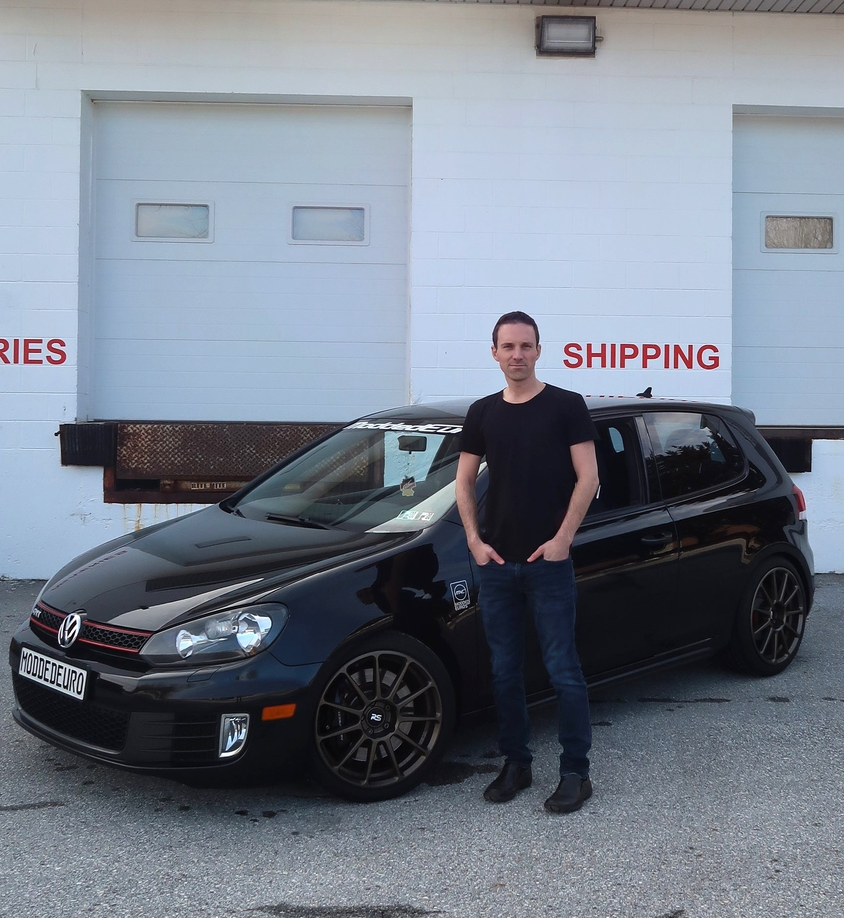 """""""I think you have to feel the fear and just do it anyway."""" - Sean Dawes, co-founder of Modded Euros"""