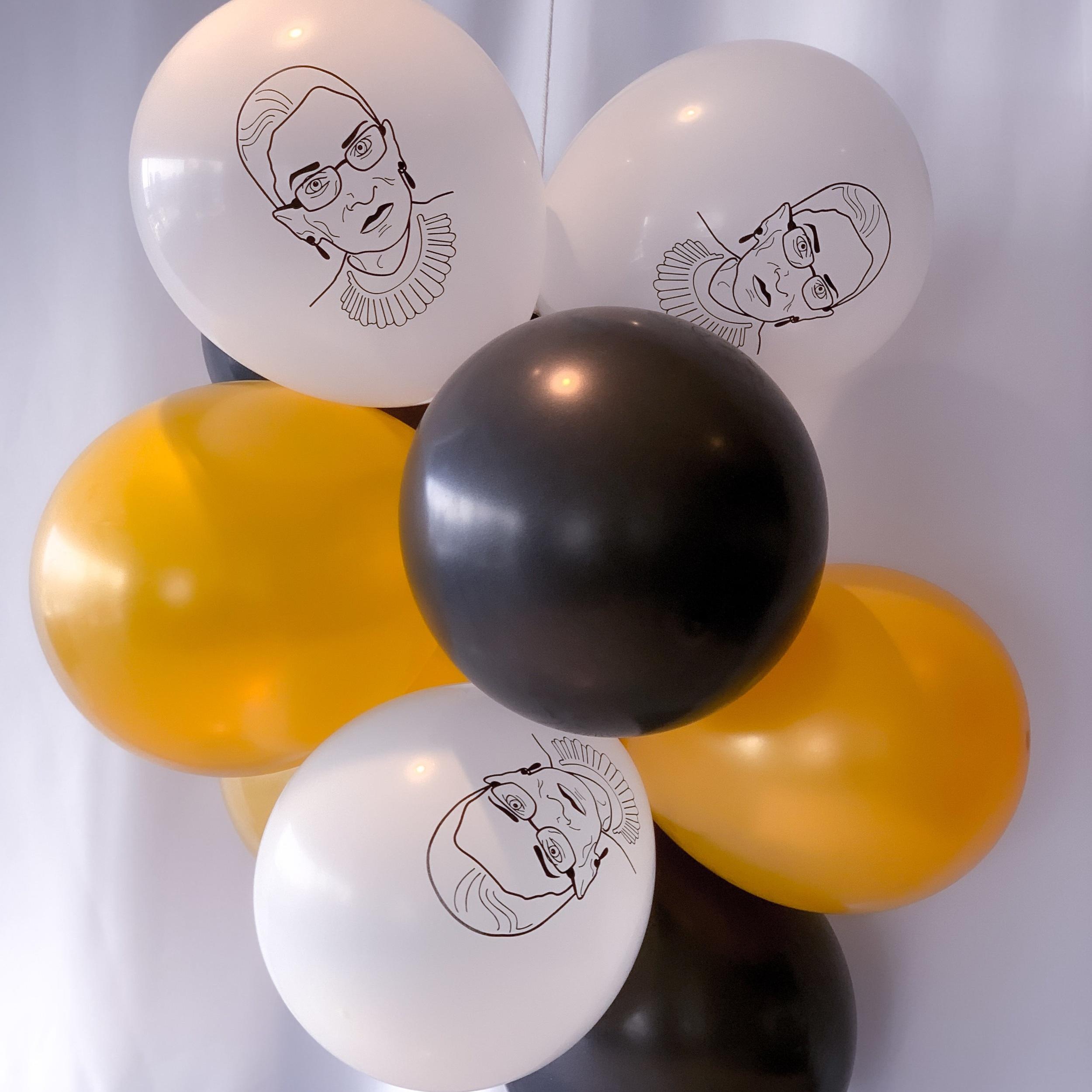 RBG Balloon Bunch (10 Balloons)