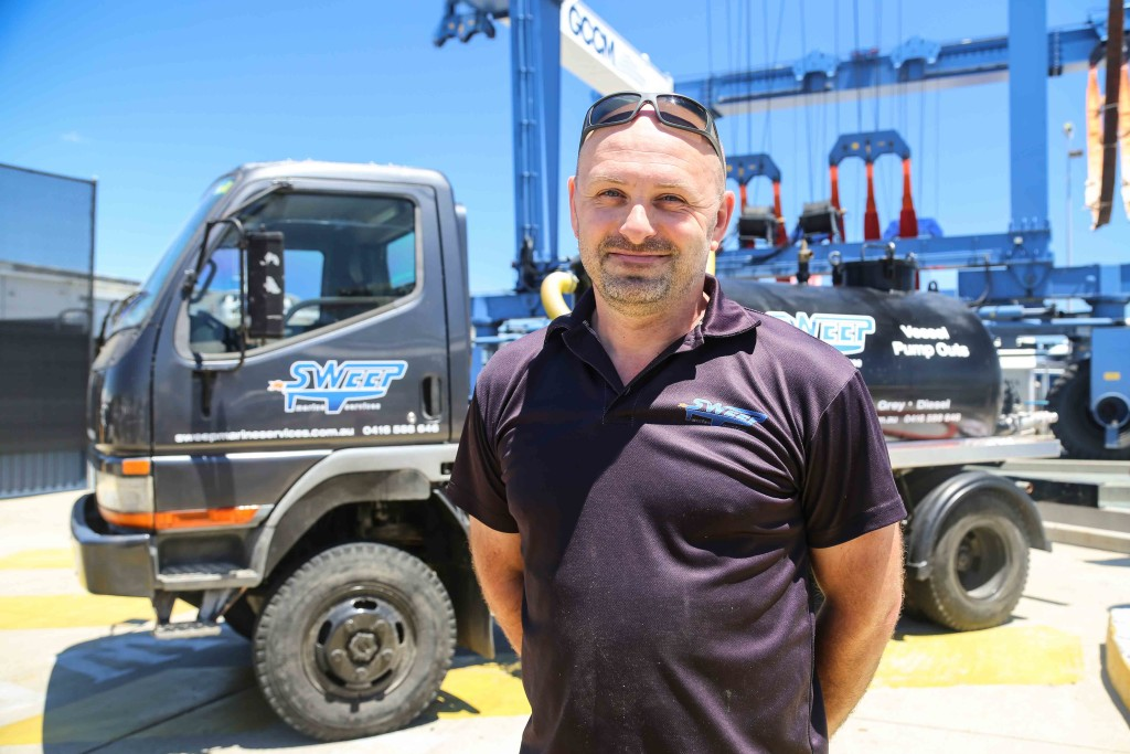 Sweep Marine Director with Pump Out Truck