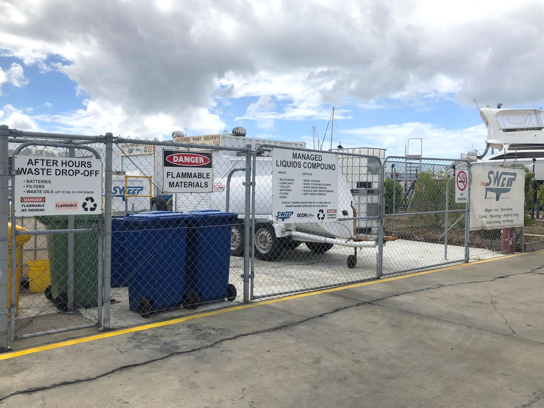 Sweep Marine Services Liquid Storage Compound