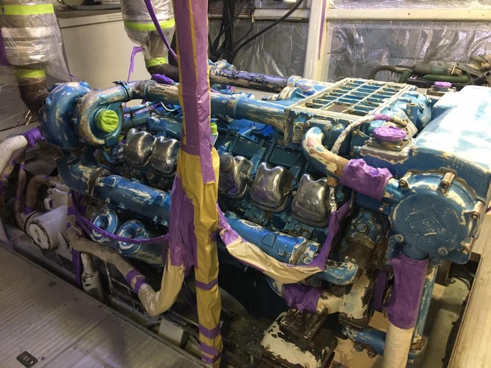 ENGINE REFINISHING MASKING