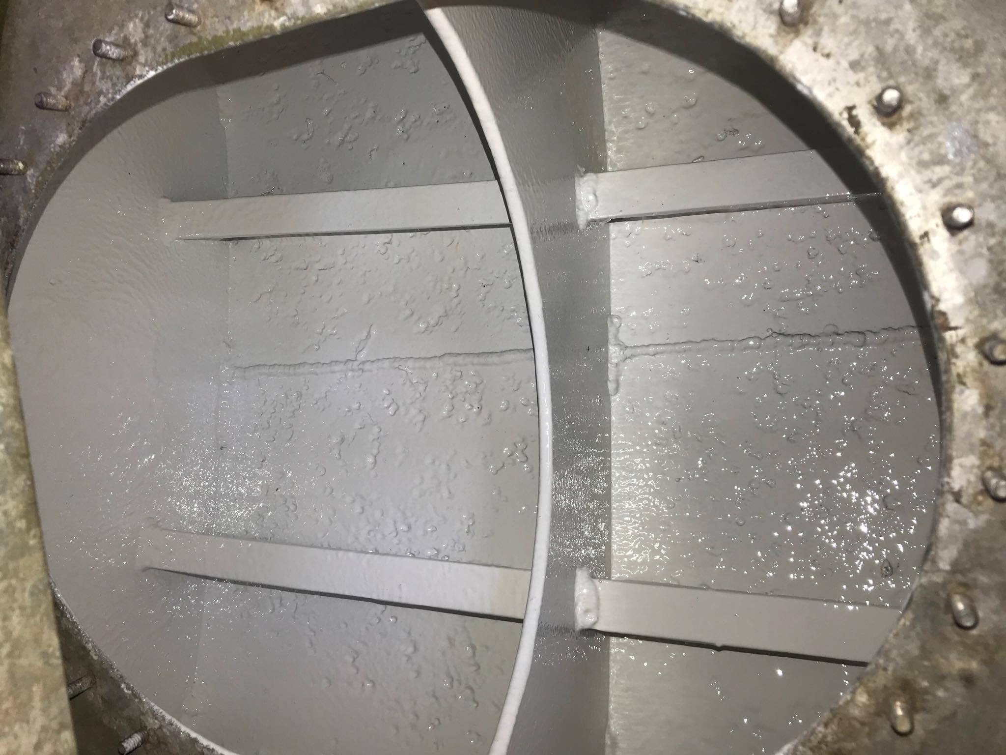 WATER TANK REFINISHING AFTER