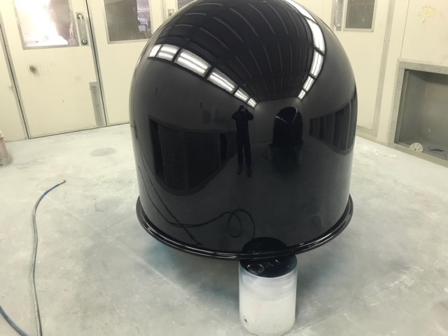 MAST DOMES REFINISH AFTER