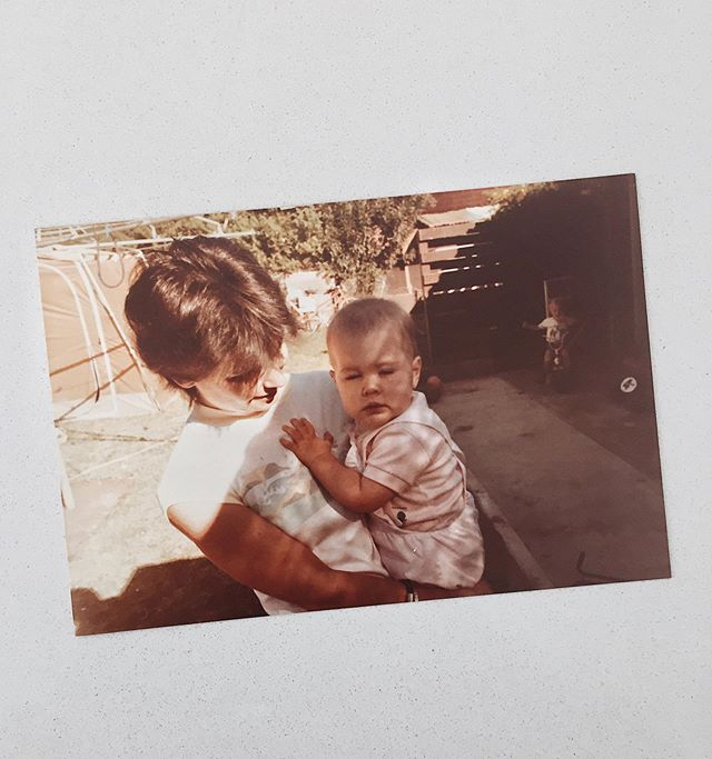 To all the Mamas out there just doing the best that they can. Happy Mother's Day. This is me and my legend of a mum, circa 1984. Who run the world?! ♥️✌️💁🏻‍♀️ . . . . . #mothersday2019 #80skid #backintheday #mum #bestmum #whoruntheworld #1984 #girls  #photoofaphoto #girlboss #vintage #perthigers
