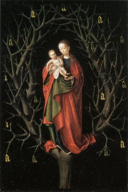 Our Lady of the Barren Tree , Petrus Christus, c.1450