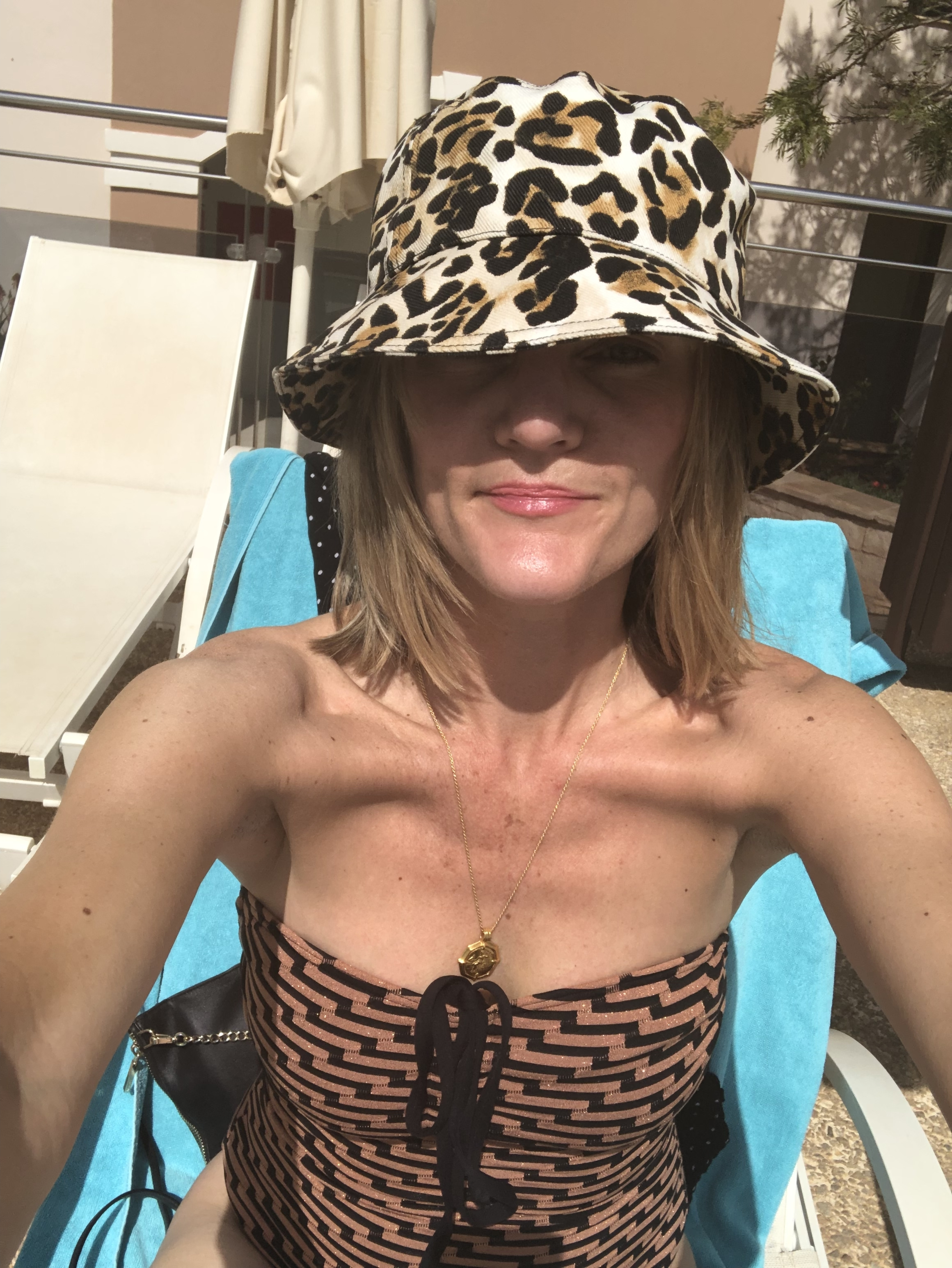 My ultimate holiday hero piece has to be the Bucket hat. I bought this from & Other Stories. It comes up small though this is a size Large. I wore it everyday. I also love this old Next swimsuit from last summer.