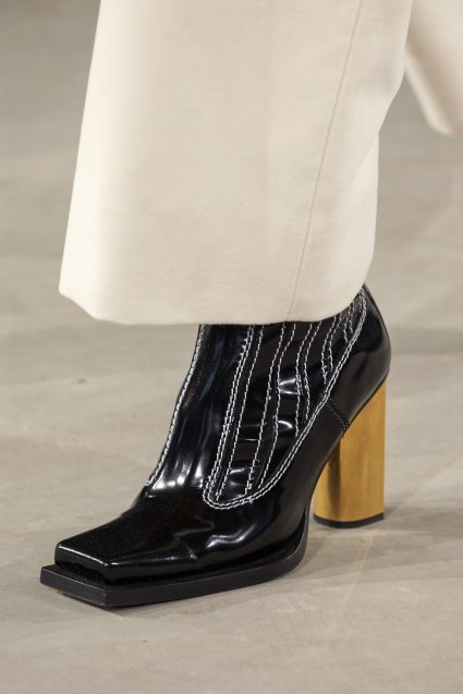 The square toe shape is also set to make a big return. These Proenza Shouler ones are a great shape.