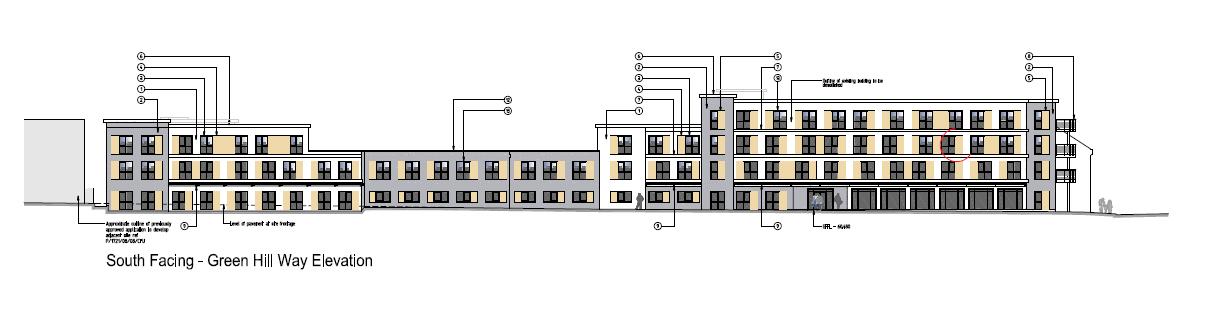 Travelodge hotel Harrow plan