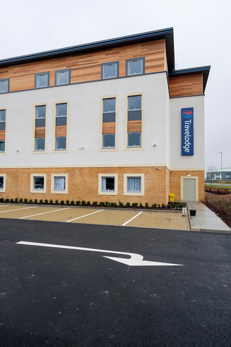 Travelodge hotel Andover exterior