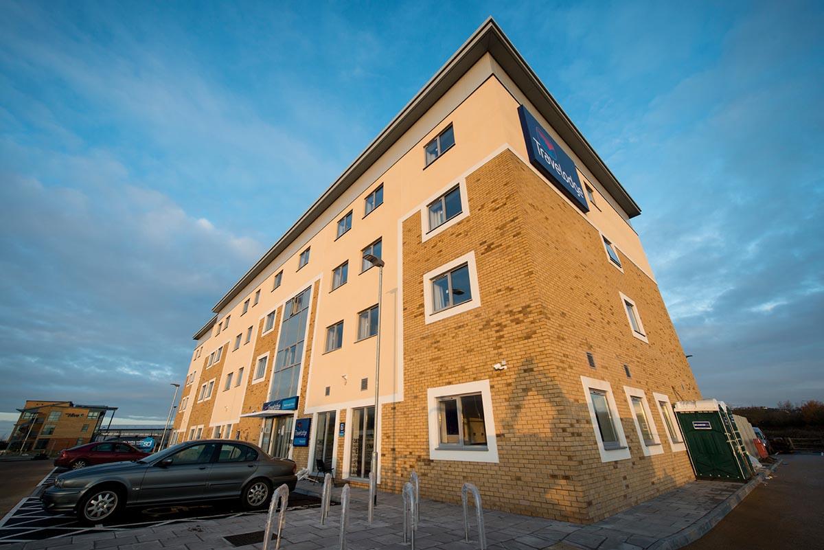 Travelodge hotel Weston-Super-Mare exterior