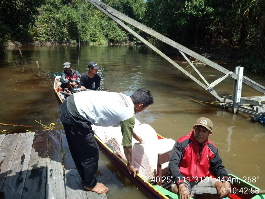In the Lamandau Wildlife Reserve there is a permit system for sustainable use of non-timber forest products. Our staff check permits and boats to ensure this system works for orangutans, forests and people.