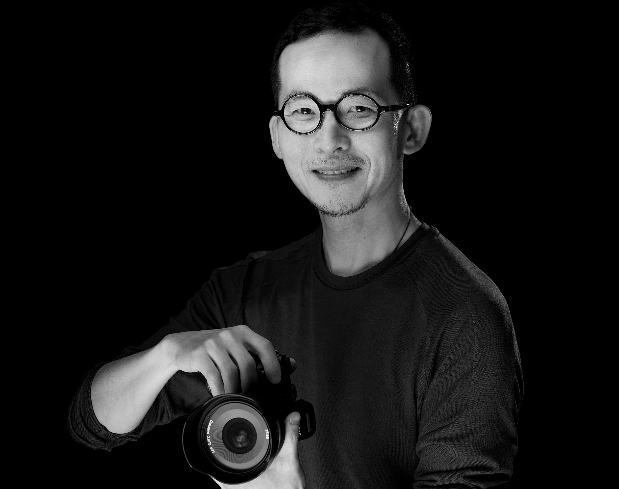 BnW self portrait with camera (1).jpg
