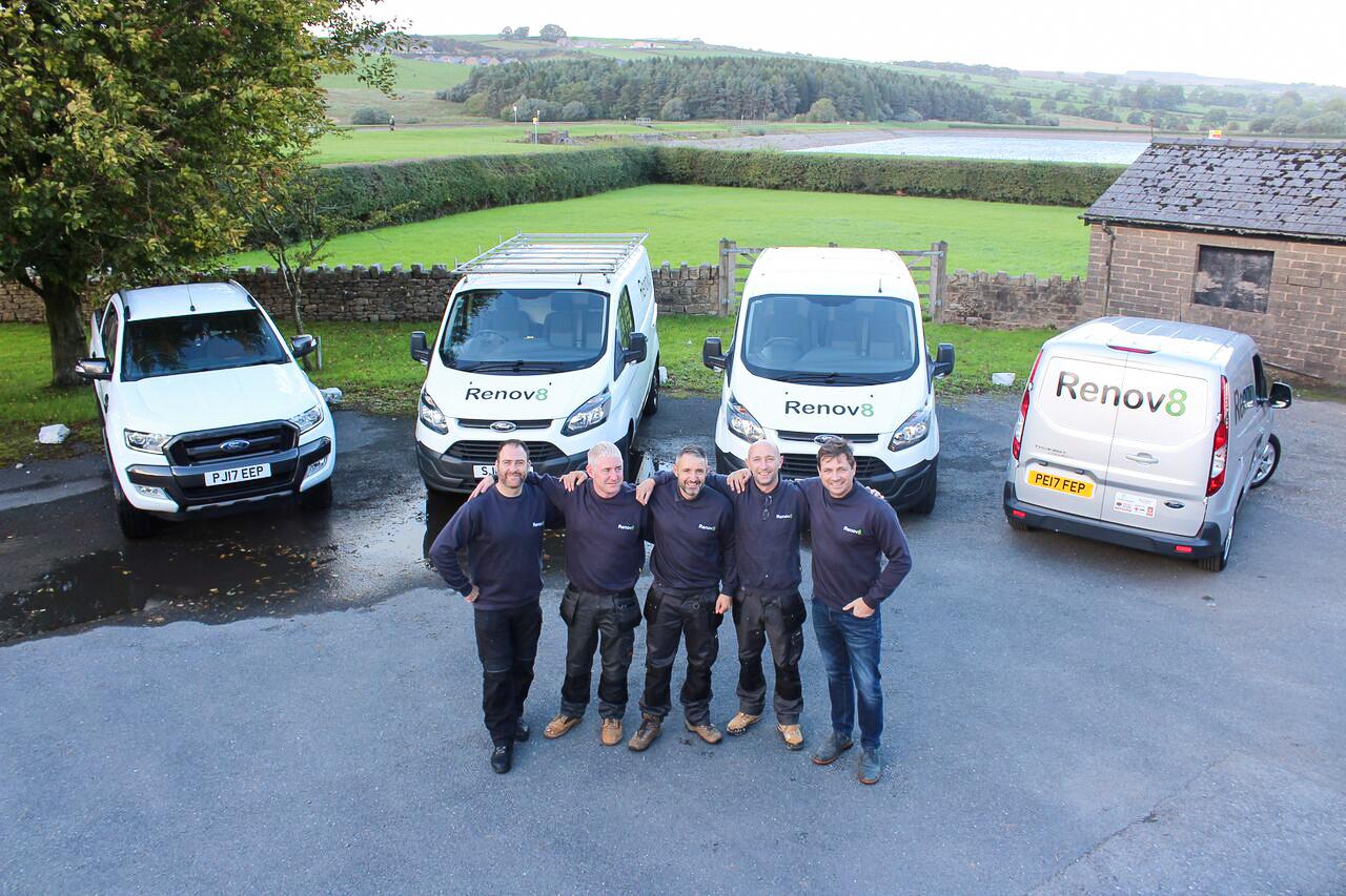 More of our dedicated Renov8 team.