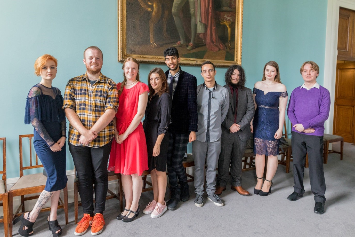 Graduates of Learning Museum, The British Museum's previous Skills for the Future programme.