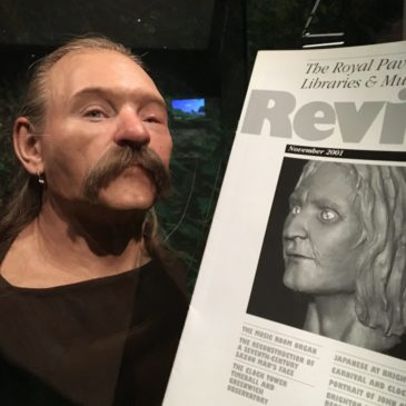 The Reconstruction of a Seventh-Century Saxon Man's Face