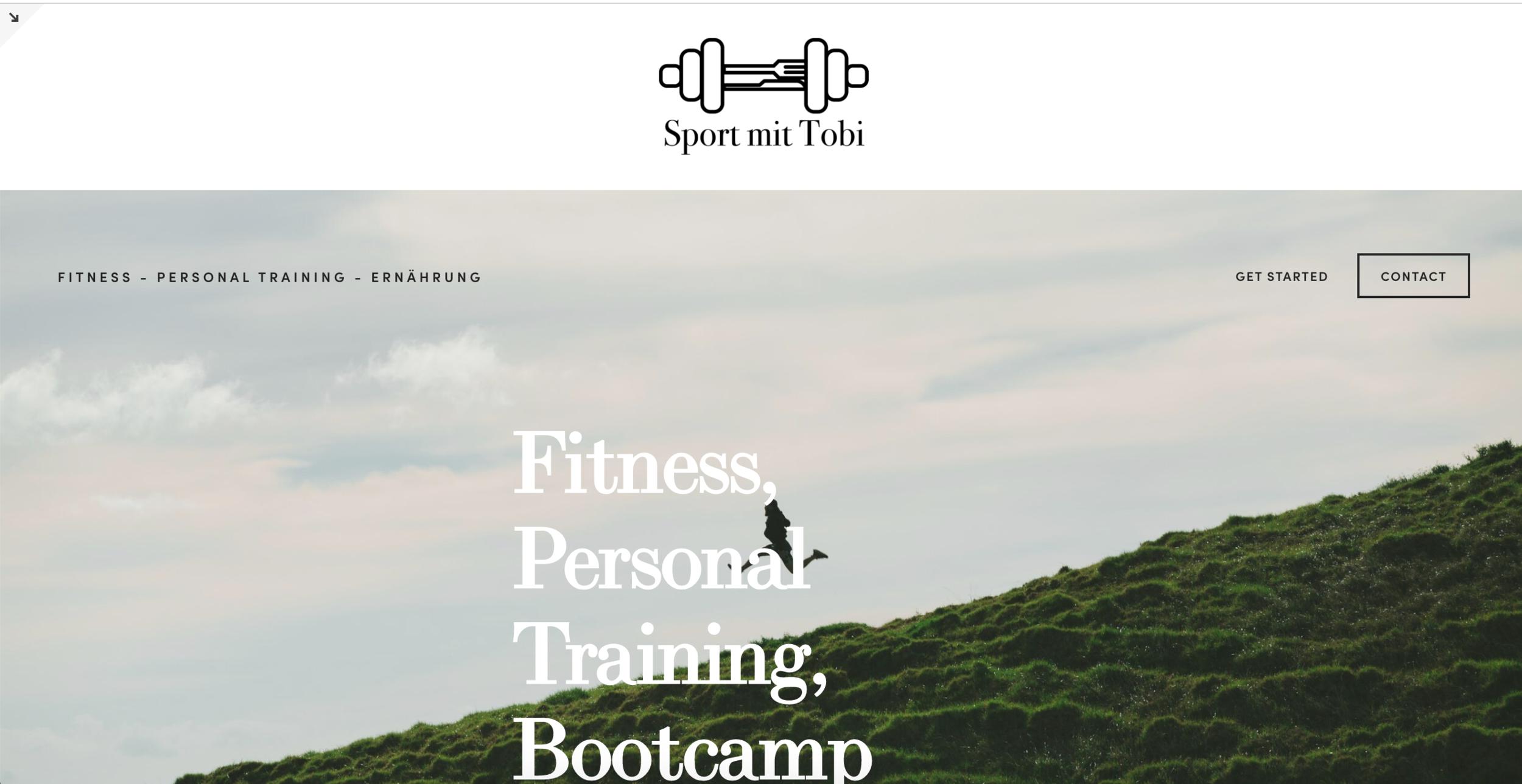 webdesign Sport mit Tobi Sabina Schmitz