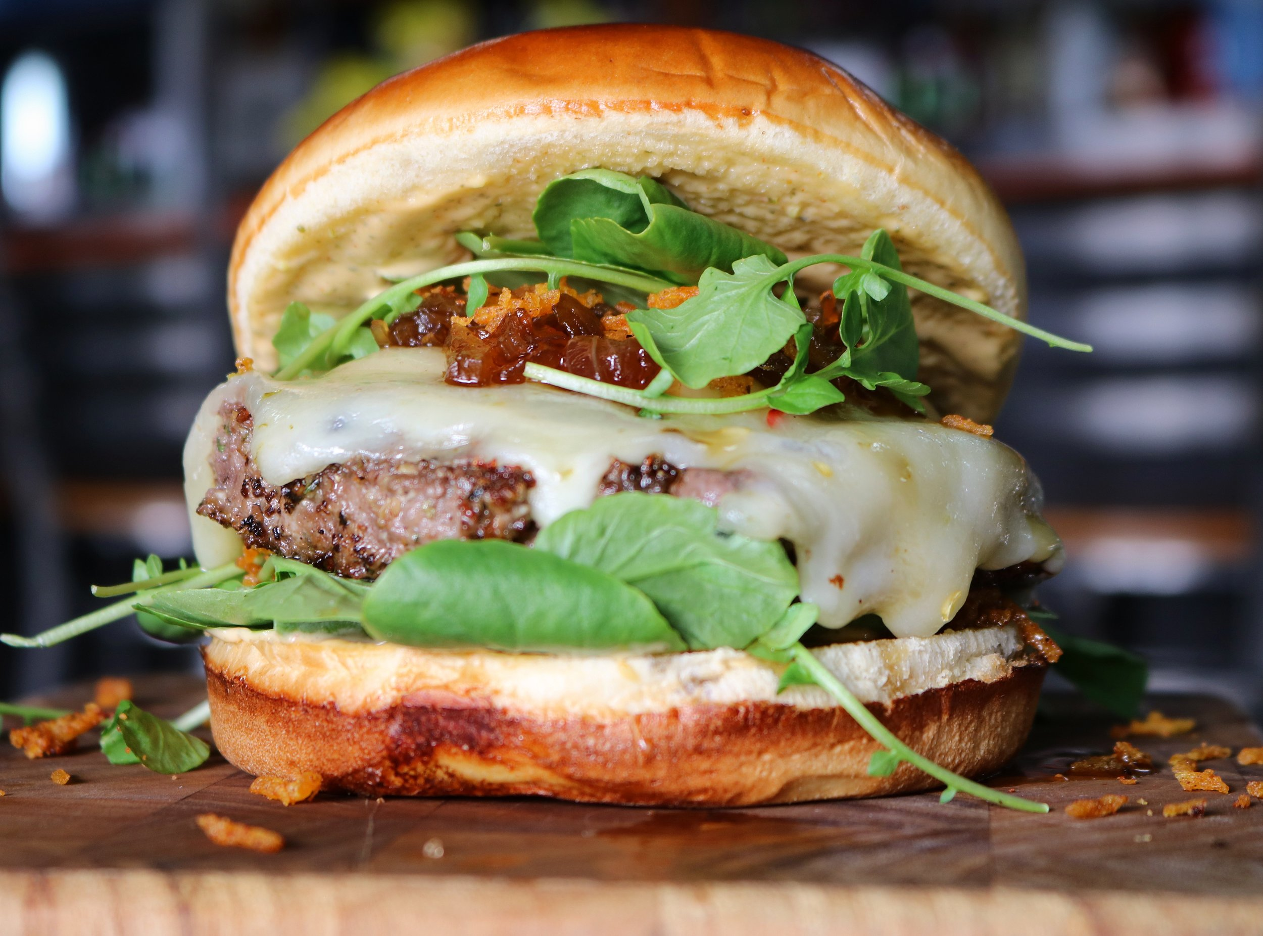 Dr pepper bourbon glazed pepperjack cheeseburger.jpg