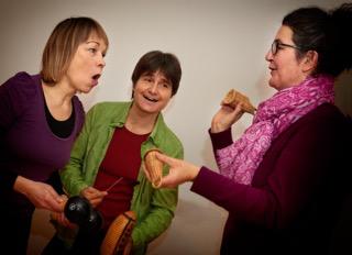 Trio Improvisa (Bild: A. Emmenegger)