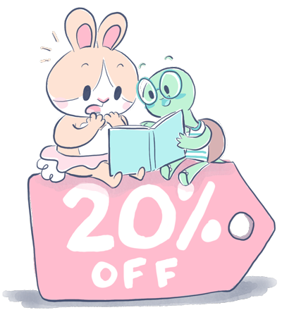 Want to join the Book Club? - You can save 20% off when you join!