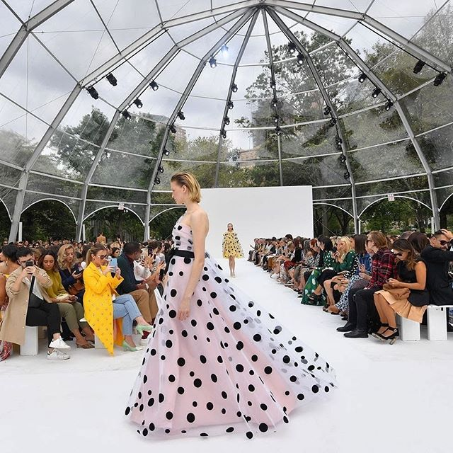 New York Fashion Week Day 4 - The absolutely dreamy Carolina Herrera show. Wes Gordon bringing his vision of joyful and dramatic colour to life for Spring 2020