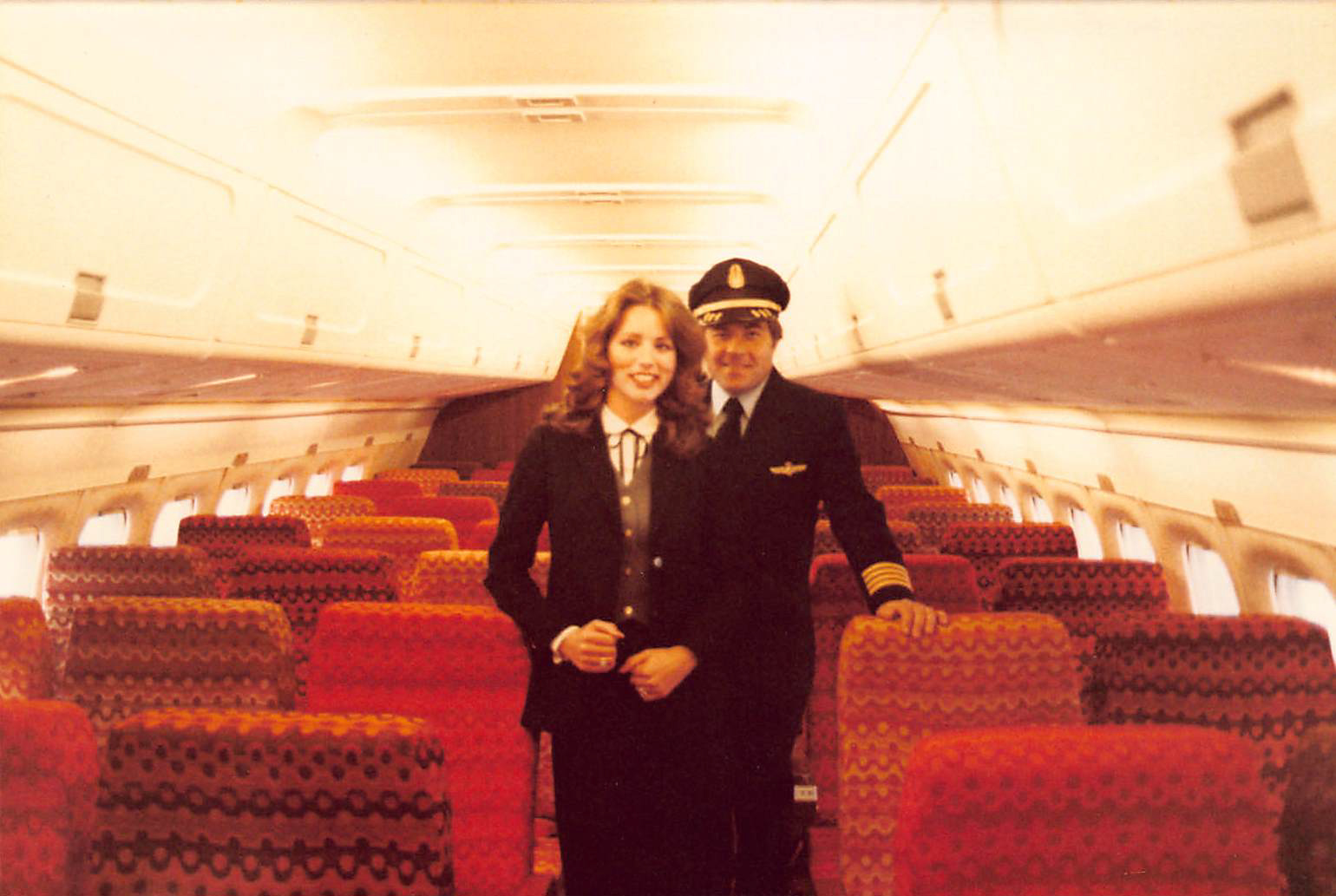 Harry and Myself in his plane