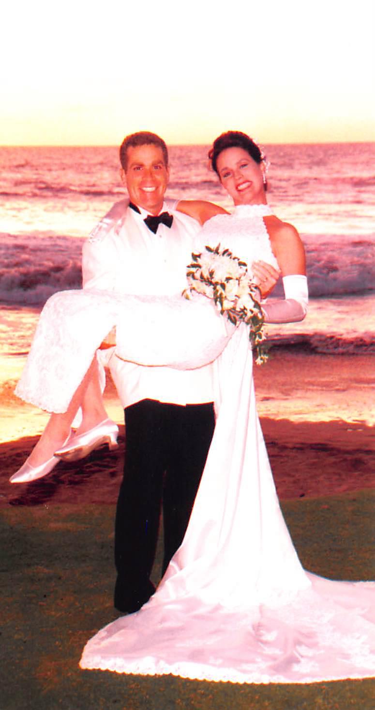 Dianne and Mitchel Goldman Wedding    February 14, 1997