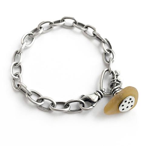 yellow seaglass bracelet.jpg
