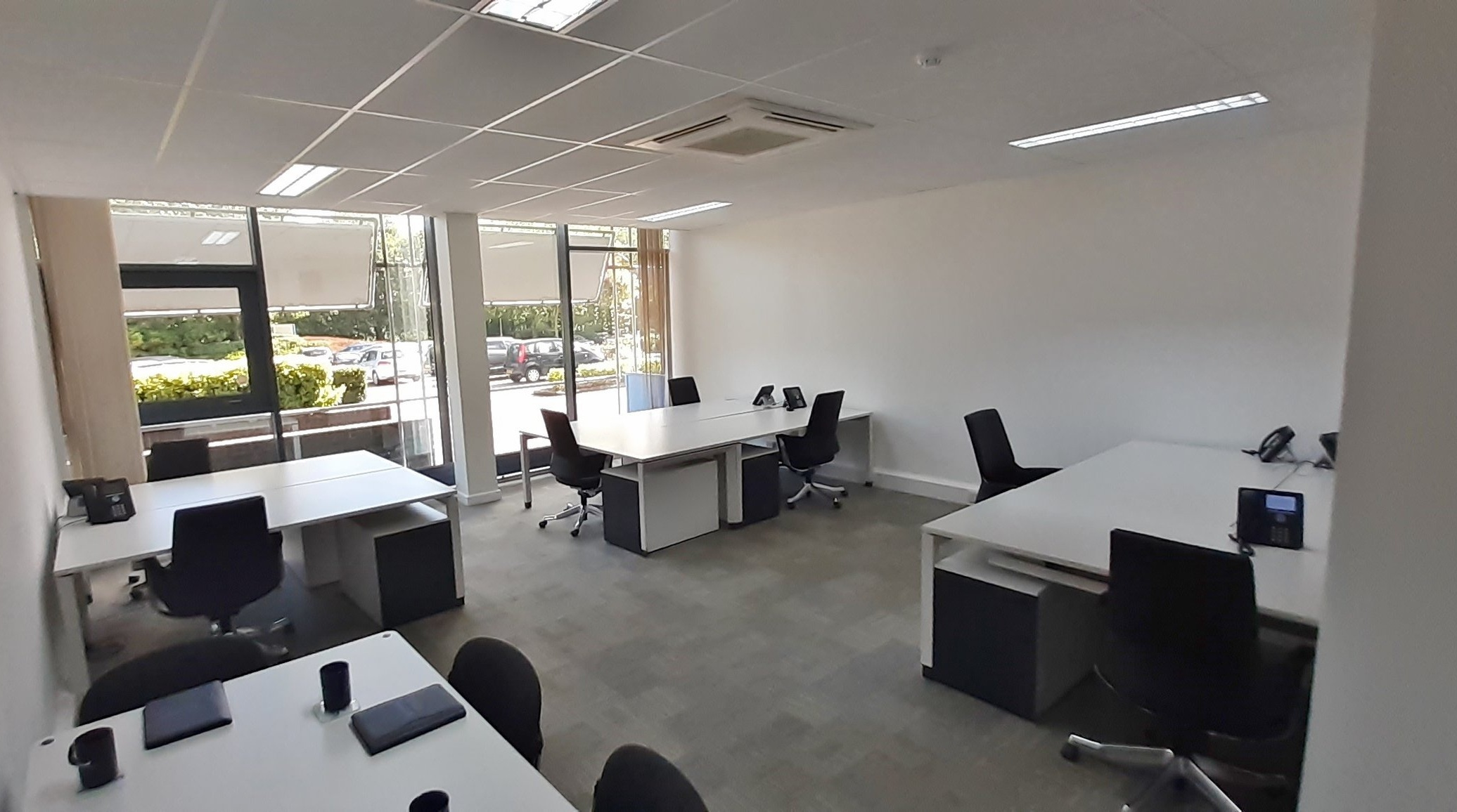 Suite G.03 - An accessible 8-12 desk office located on the ground floor complete with air conditioning and views out of the front of the building.Desk Capacity: 8-12Size: 601 sqftMonthly price: Contact usIncluded: See what is included in the price here.